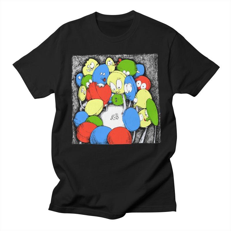 Suckers! Women's Unisex T-Shirt by Strange Menagerie