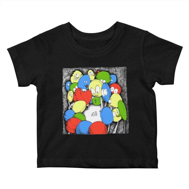Suckers! Kids Baby T-Shirt by Strange Menagerie