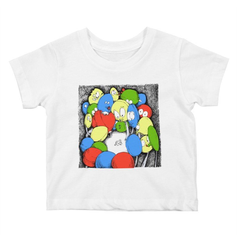 Suckers! Kids Baby T-Shirt by Strange Menagerie