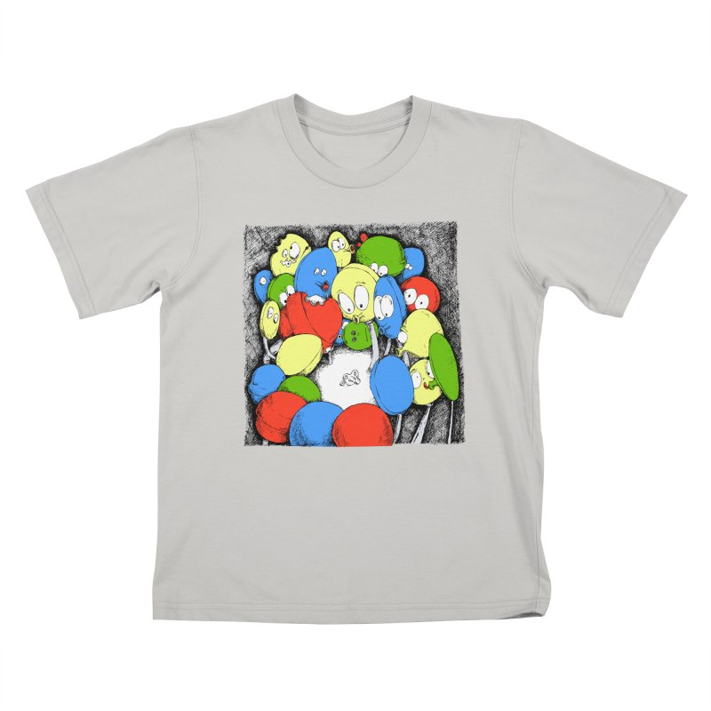 Suckers! Kids T-Shirt by Strange Menagerie