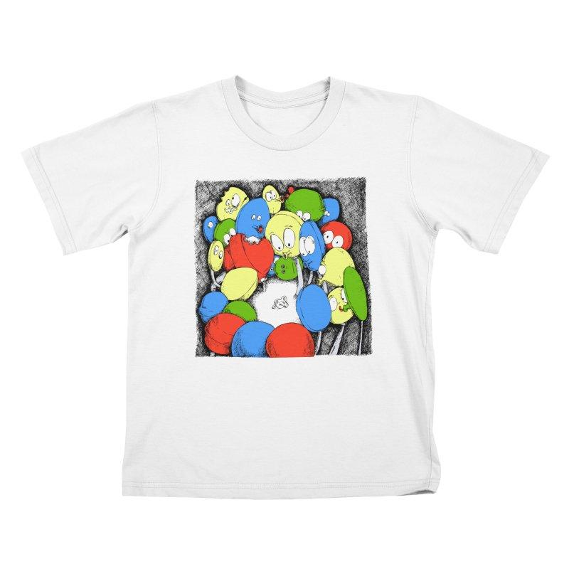 Suckers! Kids T-Shirt by Strange Menagerie