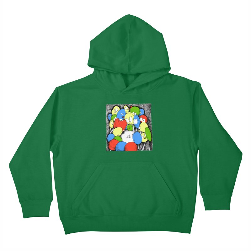 Suckers! Kids Pullover Hoody by Strange Menagerie