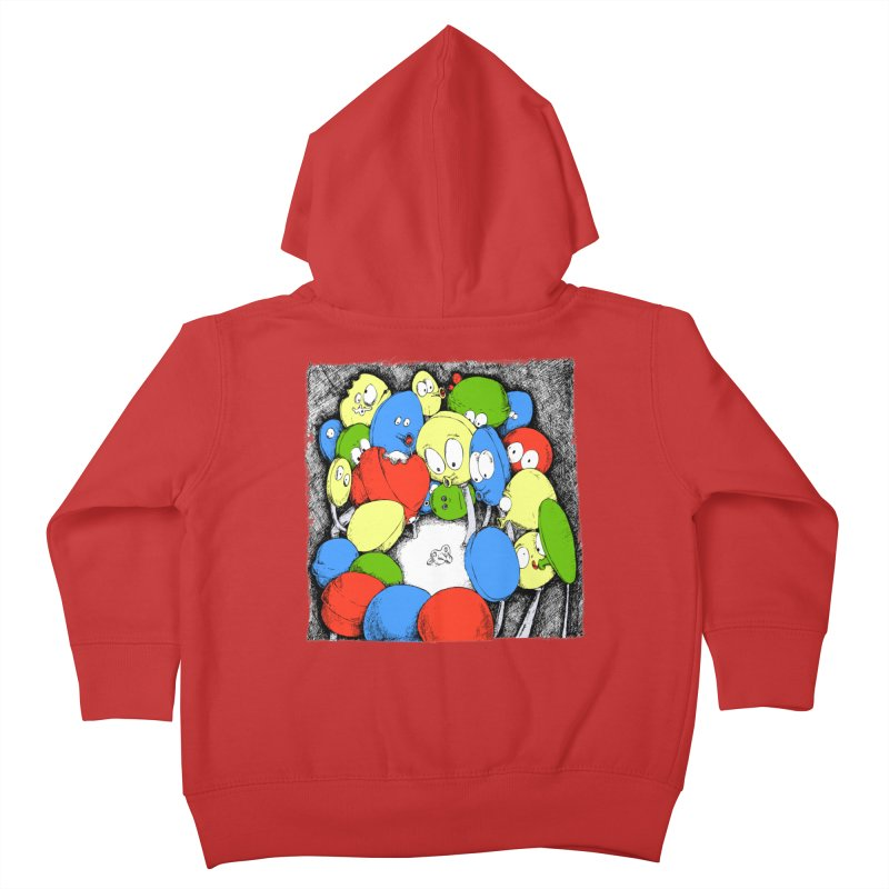 Suckers! Kids Toddler Zip-Up Hoody by Strange Menagerie