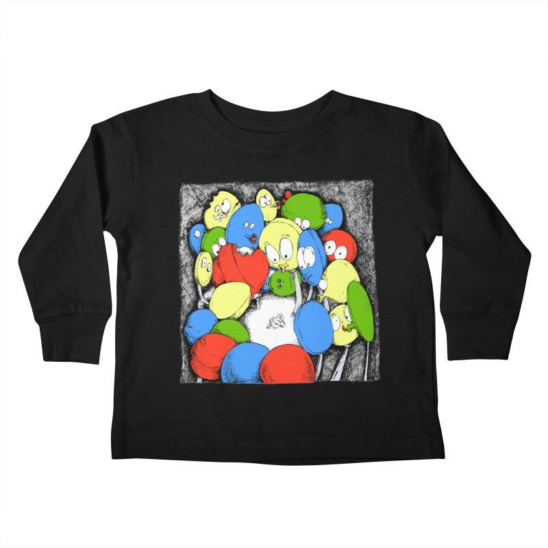 Suckers! Kids Toddler Longsleeve T-Shirt by Strange Menagerie