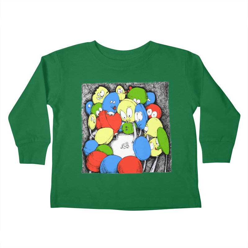 Suckers! Kids Toddler Longsleeve T-Shirt by Strange Menagerie