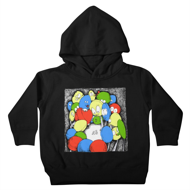 Suckers! Kids Toddler Pullover Hoody by Strange Menagerie