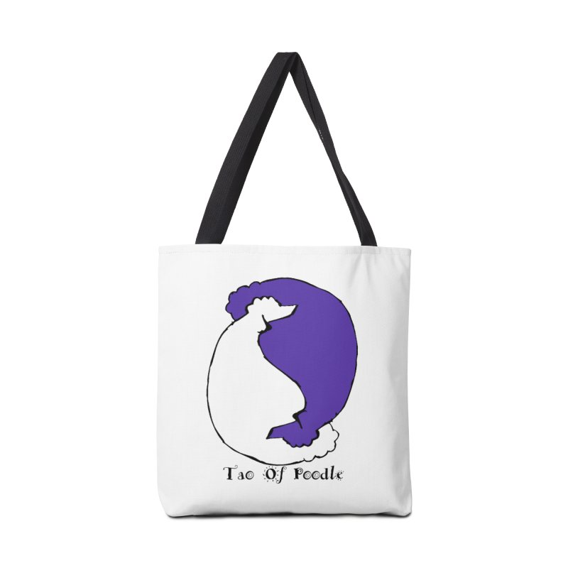 Tao Of Poodle Accessories Bag by Strange Menagerie