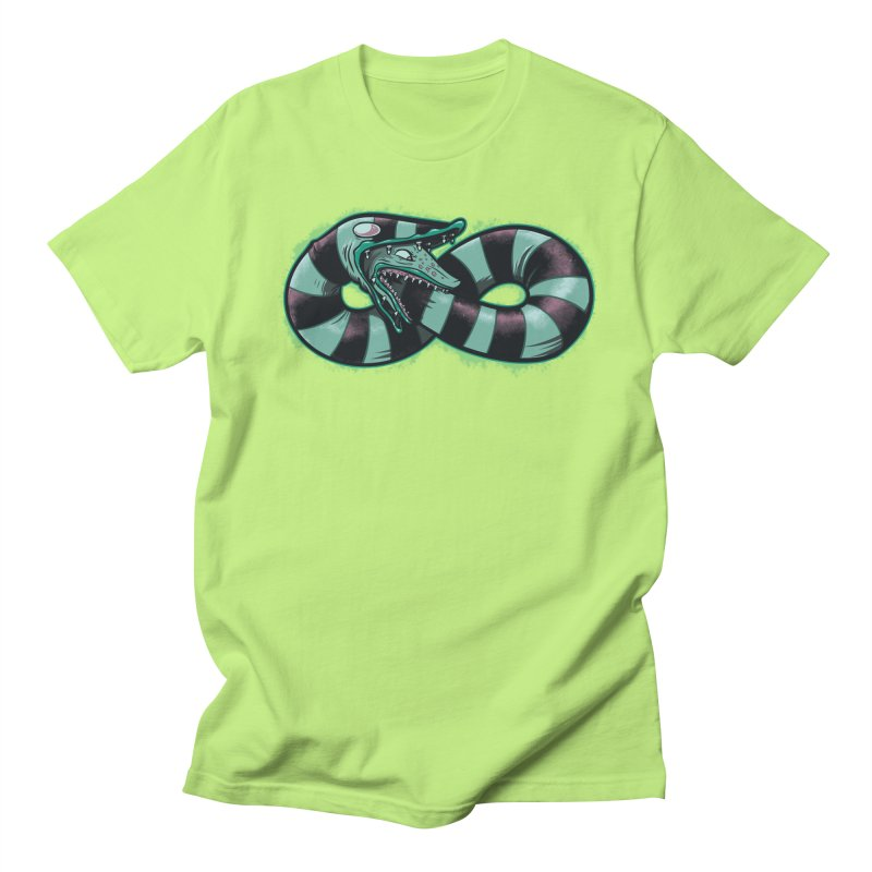 Infinity Worm Men's Regular T-Shirt by Poopsmoothie
