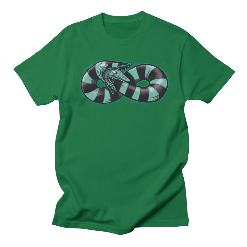 Infinity Worm Men's T-shirt by Poopsmoothie