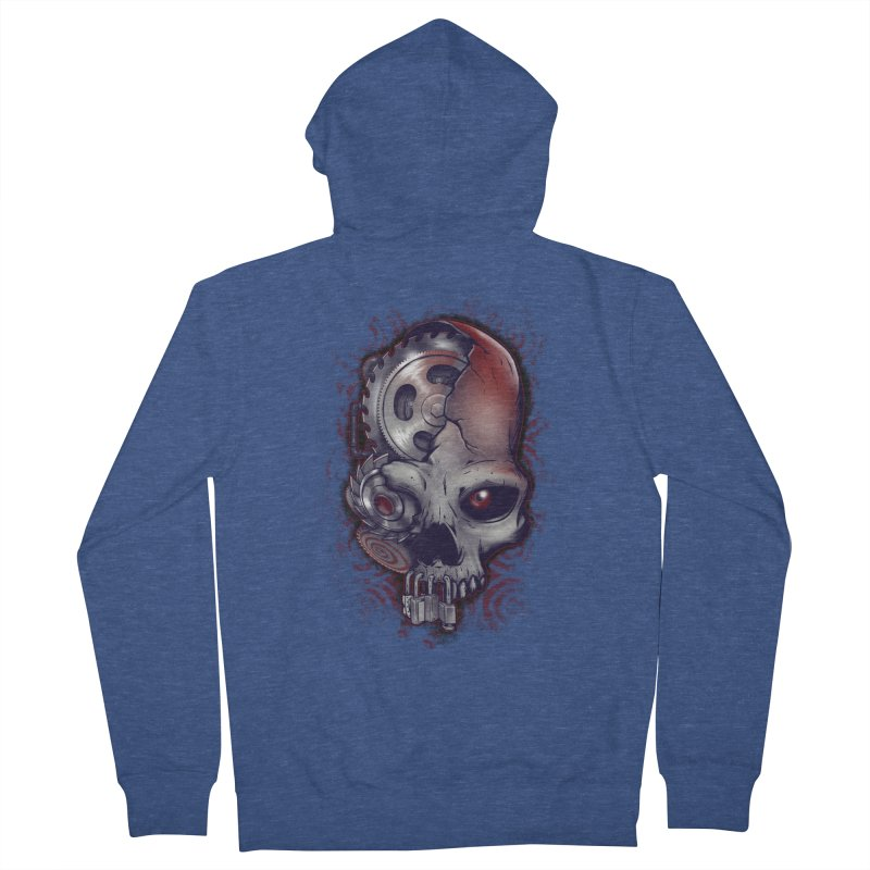 Playing games Men's French Terry Zip-Up Hoody by Poopsmoothie