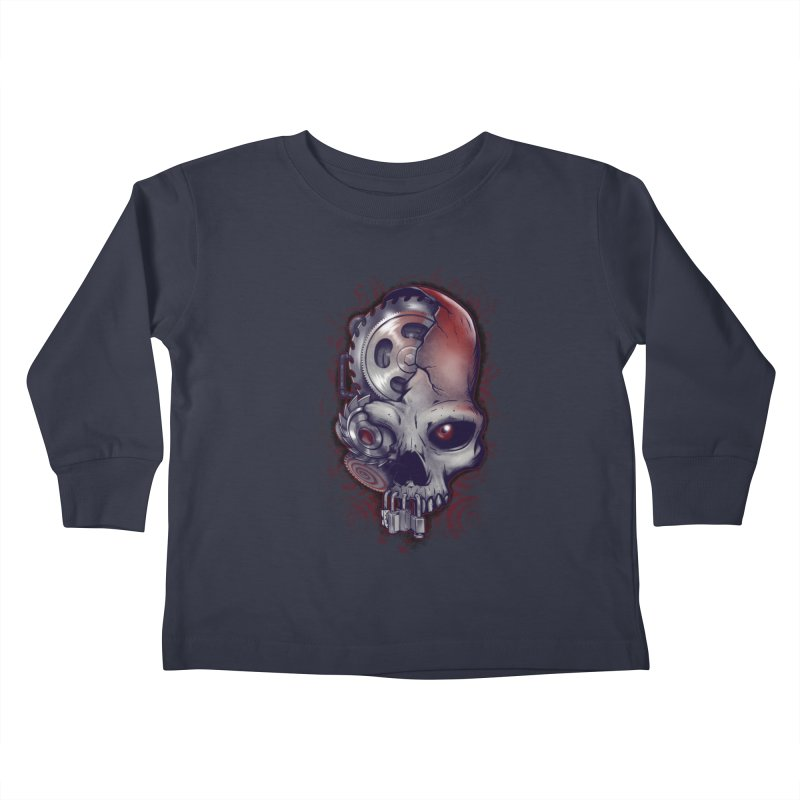 Playing games Kids Toddler Longsleeve T-Shirt by Poopsmoothie
