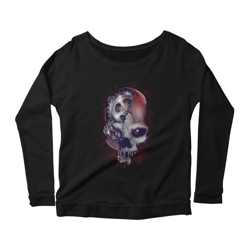 Playing games Women's Longsleeve Scoopneck  by Poopsmoothie