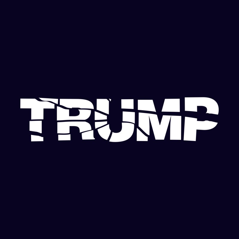 Break Trump Men's T-Shirt by Popcycle