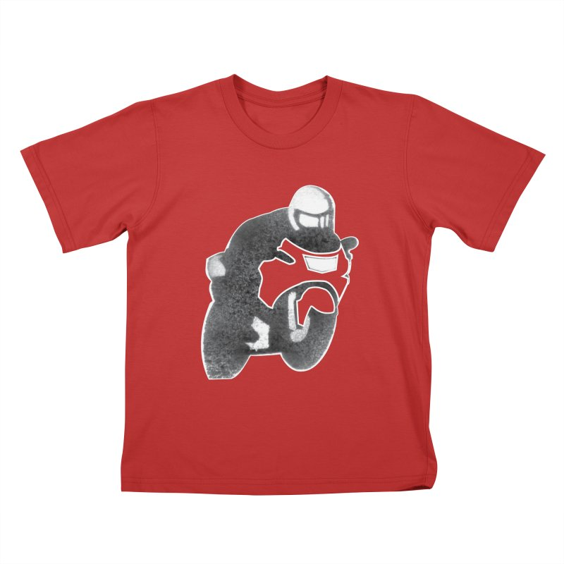 F3 Kids T-Shirt by Popcycle
