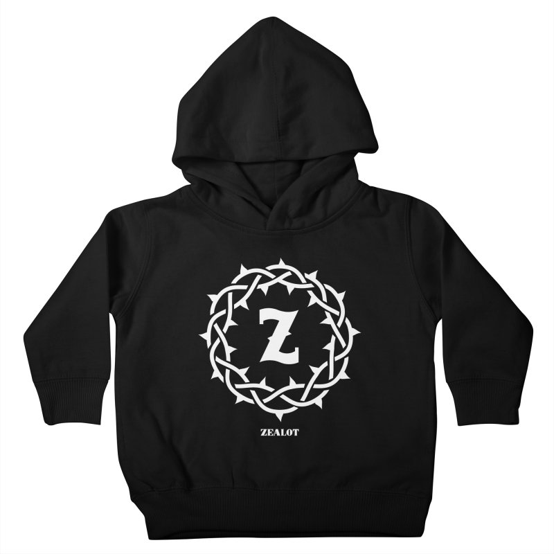 Zealot Crown of Thorns Kids Toddler Pullover Hoody by Popcycle