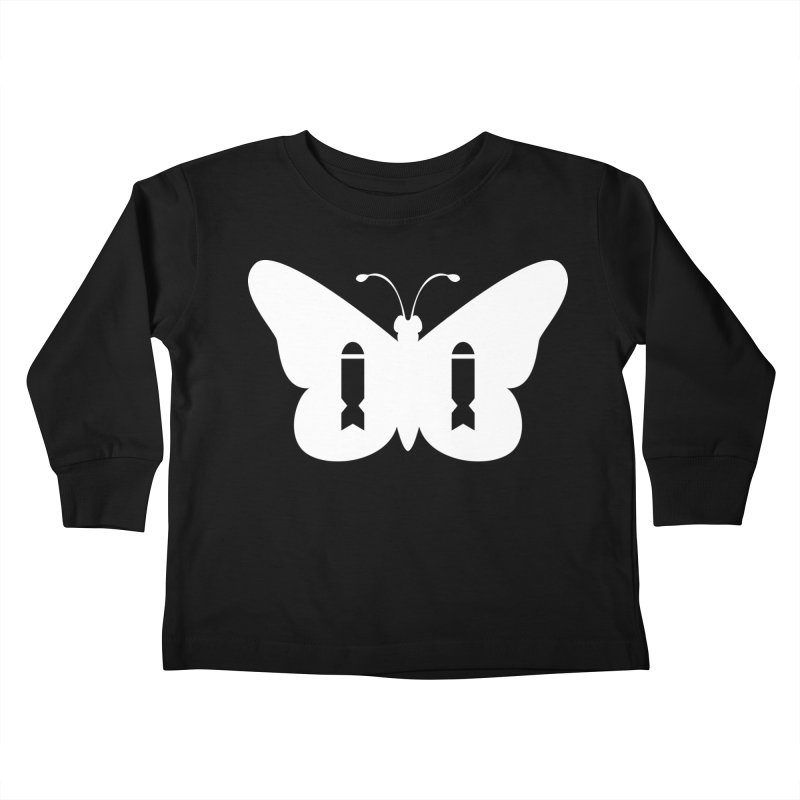 ButterBomb Kids Toddler Longsleeve T-Shirt by Popcycle