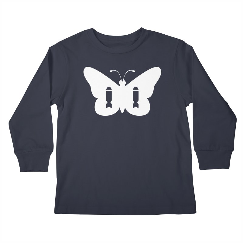 ButterBomb Kids Longsleeve T-Shirt by Popcycle