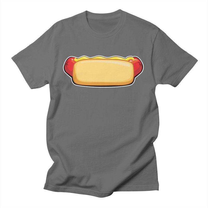 HotDog Men's T-Shirt by Popcycle