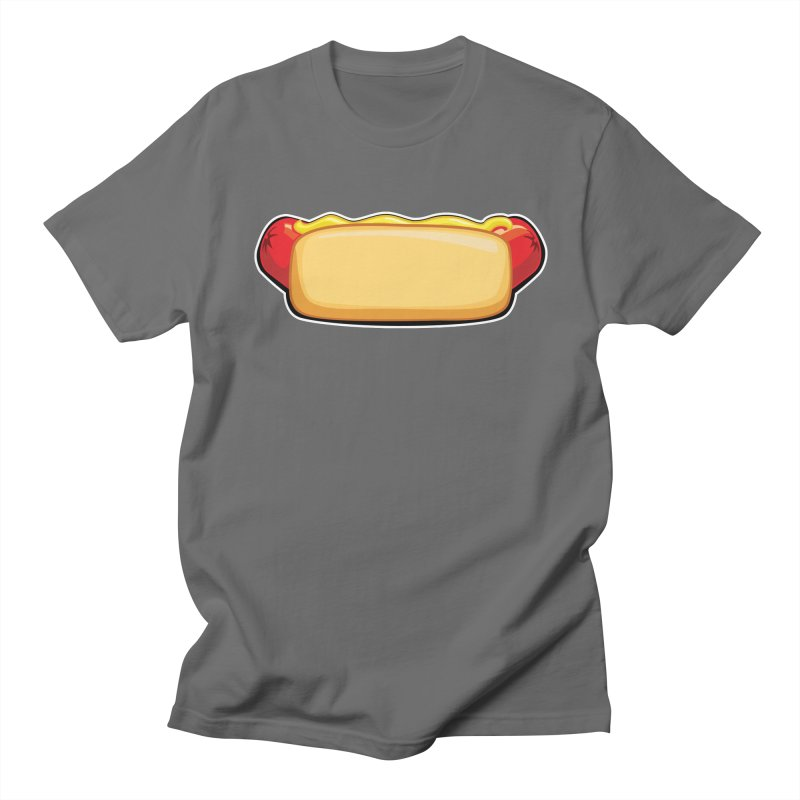 HotDog Men's T-Shirt by Popcycle