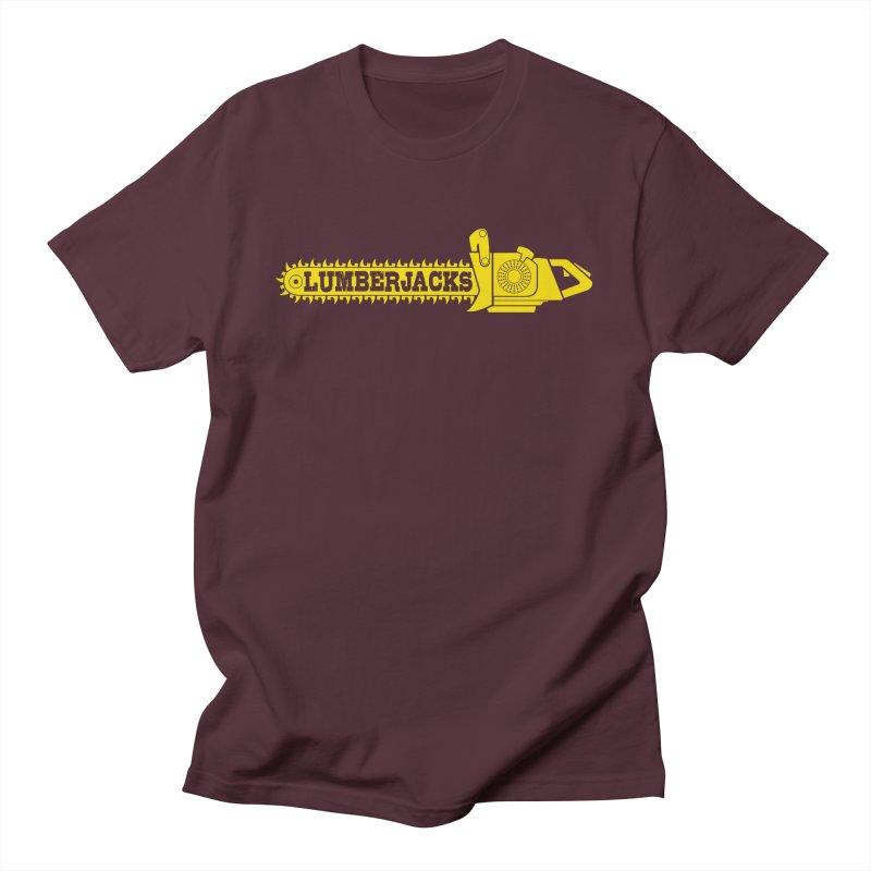 LumberJacks Men's T-Shirt by Popcycle