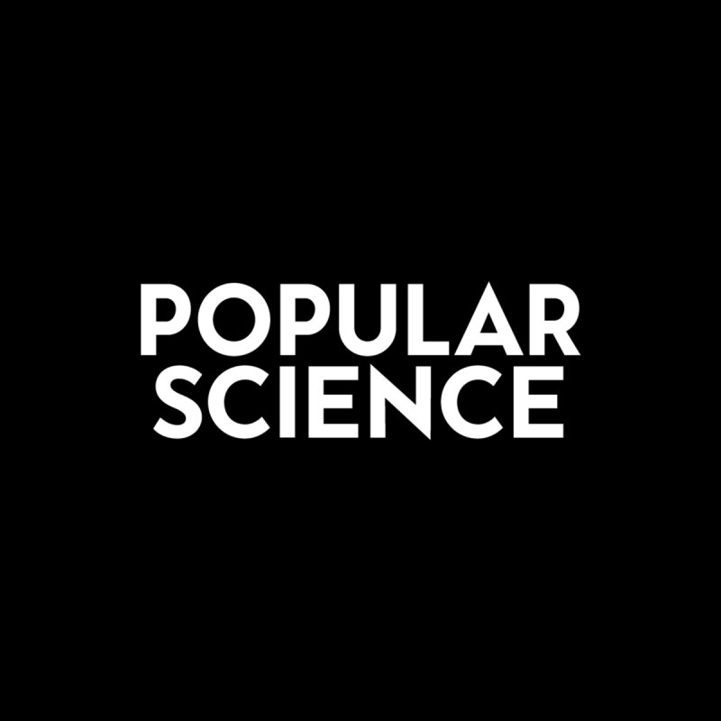 Popular Science Logo Mask Accessories Face Mask by Popular Science Shop
