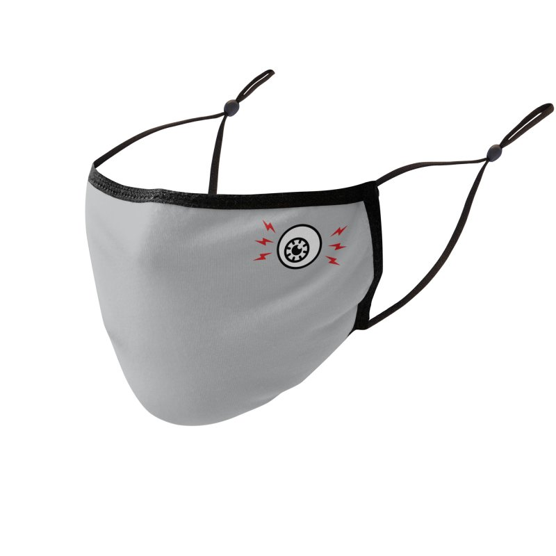 """The Weirdest Thing I Learned This Week"" Eyeball Mask Accessories Face Mask by Popular Science Shop"