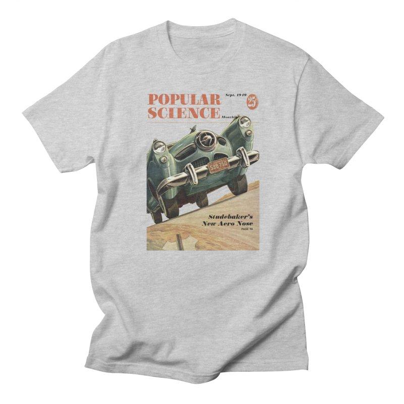 Popular Science Vintage Cover - September 1949 Men's T-Shirt by Popular Science Shop