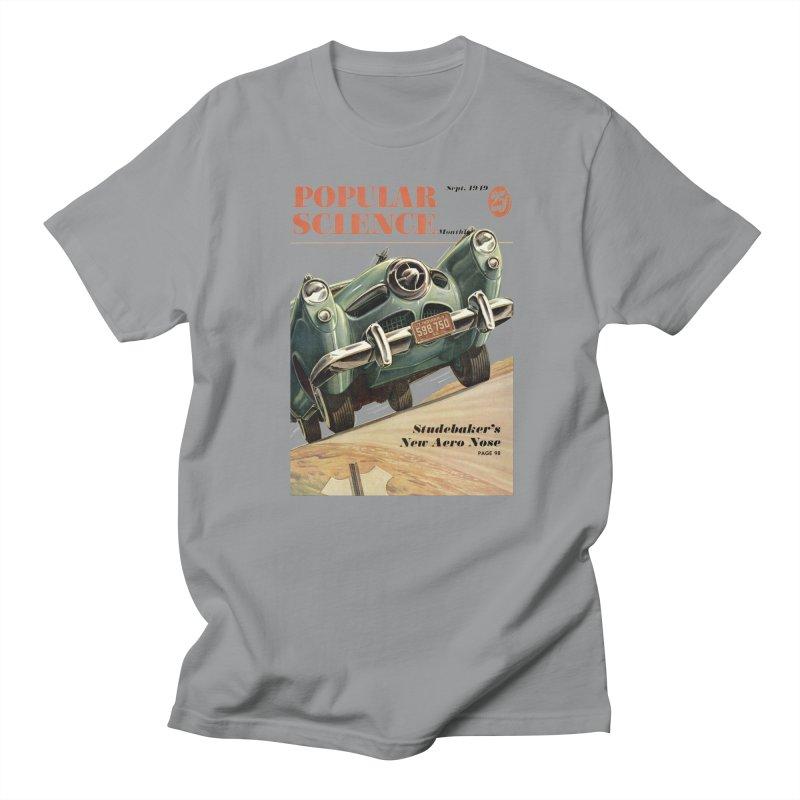 Popular Science Vintage Cover - September 1949 Women's Regular Unisex T-Shirt by Popular Science Shop