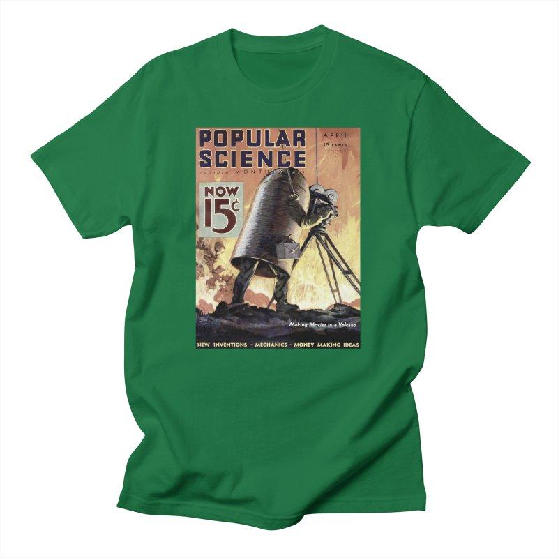 Popular Science Vintage Cover - April 1933 Men's T-Shirt by Popular Science Shop