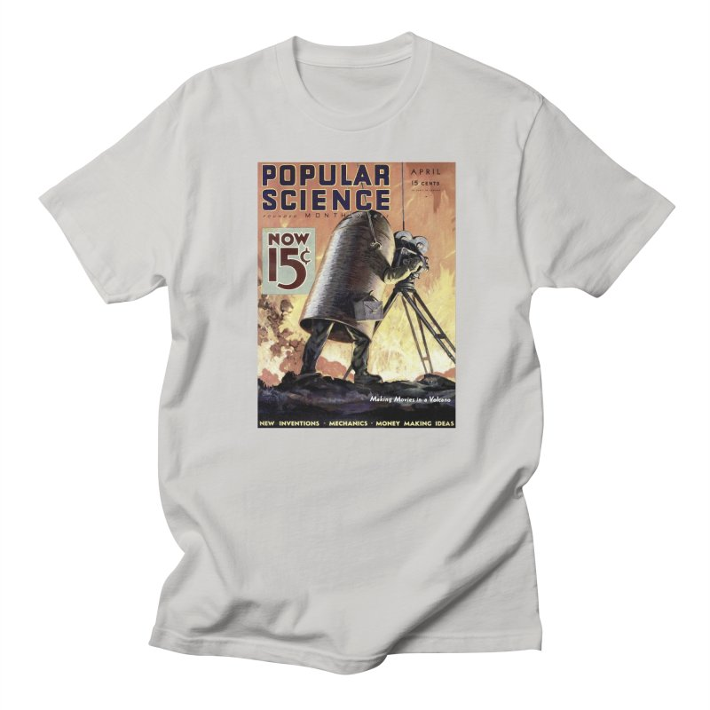 Popular Science Vintage Cover - April 1933 Men's Regular T-Shirt by Popular Science Shop