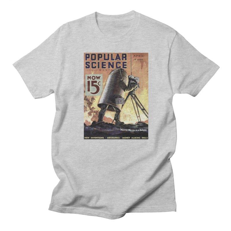 Popular Science Vintage Cover - April 1933 Women's Regular Unisex T-Shirt by Popular Science Shop