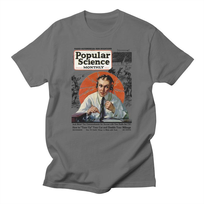 Popular Science Vintage Cover - November 1922 Men's T-Shirt by Popular Science Shop