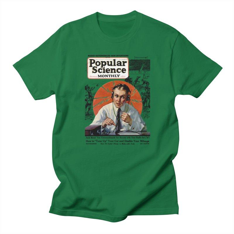 Popular Science Vintage Cover - November 1922 Men's Regular T-Shirt by Popular Science Shop