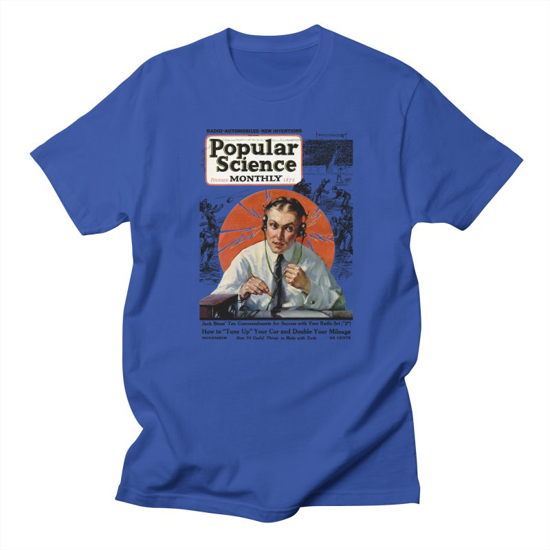 Popular Science Vintage Cover - November 1922 Women's Regular Unisex T-Shirt by Popular Science Shop