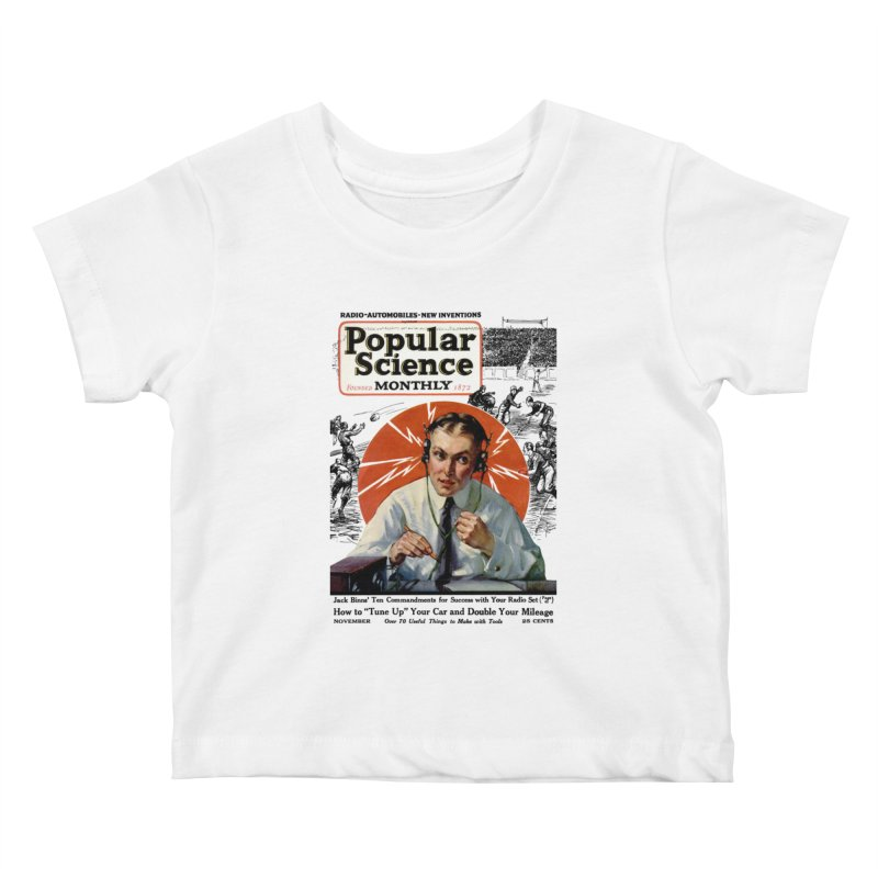 Popular Science Vintage Cover - November 1922 Kids Baby T-Shirt by Popular Science Shop