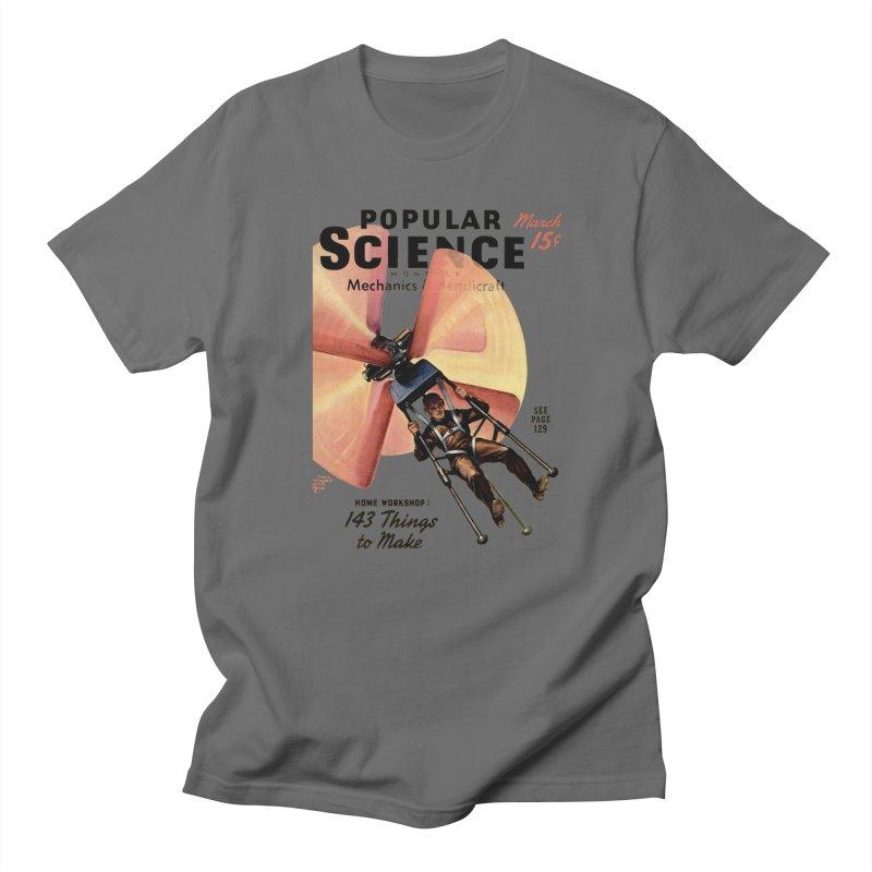 Popular Science Vintage Cover - April 1940 Men's T-Shirt by Popular Science Shop
