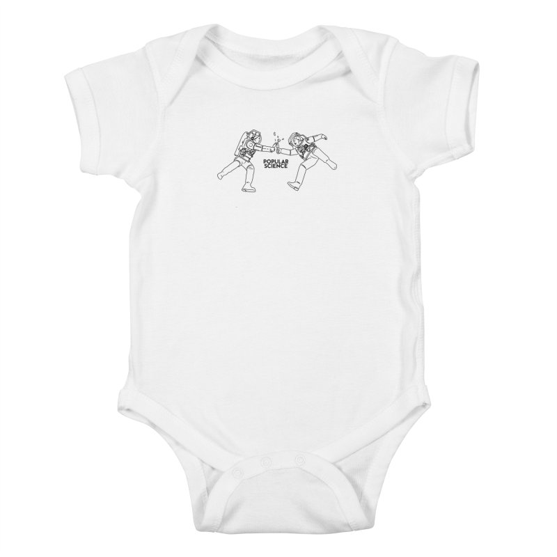 Cheers to Space! Popular Science Magazine Original Artwork Kids Baby Bodysuit by Popular Science Shop