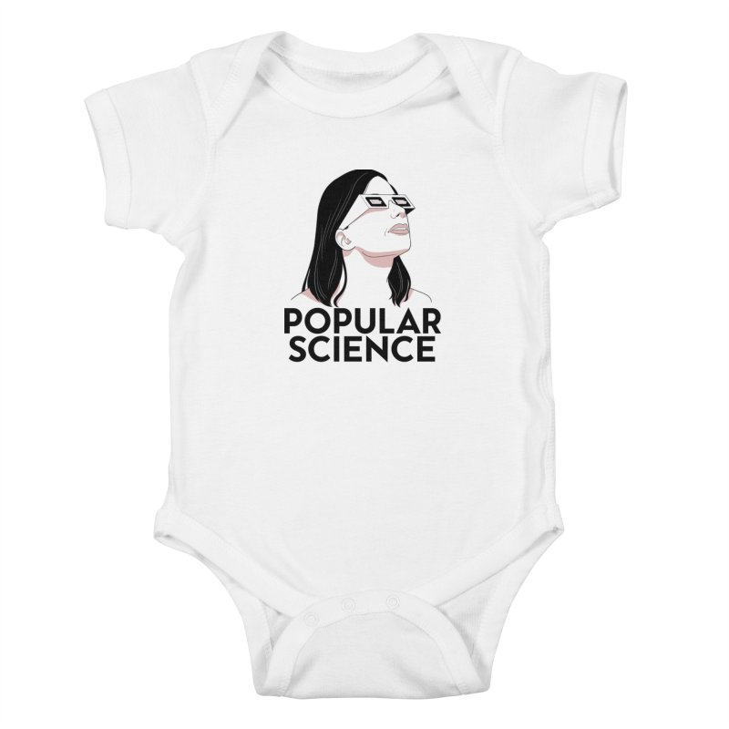The Future is Bright! Original Popular Science Magazine Artwork Kids Baby Bodysuit by Popular Science Shop