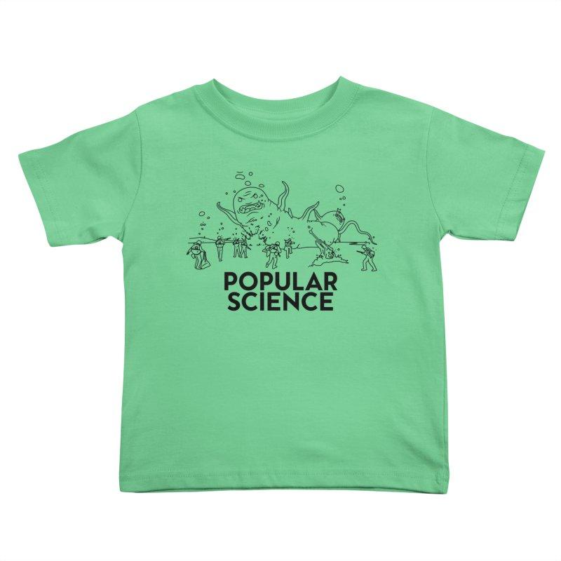 It's Alive! Original Popular Science Magazine Artwork Kids Toddler T-Shirt by Popular Science Shop