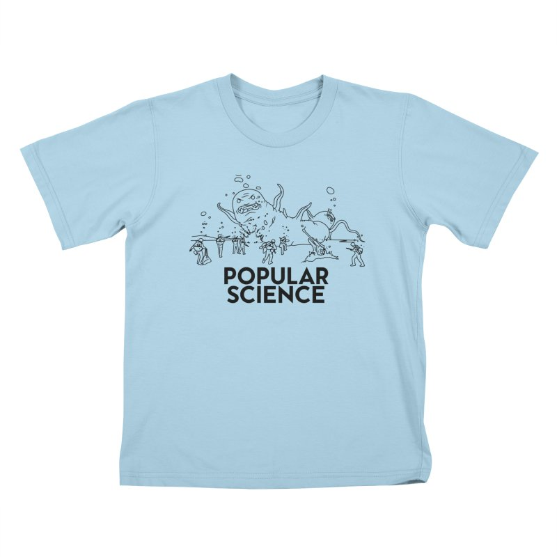 It's Alive! Original Popular Science Magazine Artwork Kids T-Shirt by Popular Science Shop