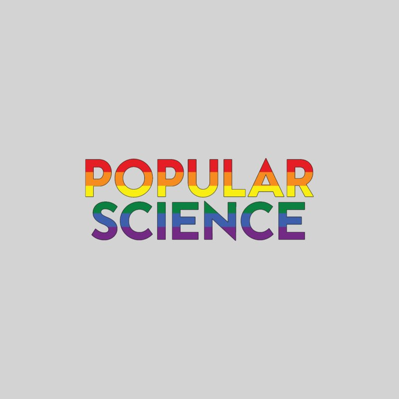 LIMITED EDITION: Popular Science Logo - Pride Men's Longsleeve T-Shirt by Popular Science Shop