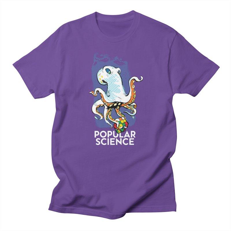 Masterful Mollusk! Original Popular Science Magazine Artwork Men's T-Shirt by Popular Science Shop