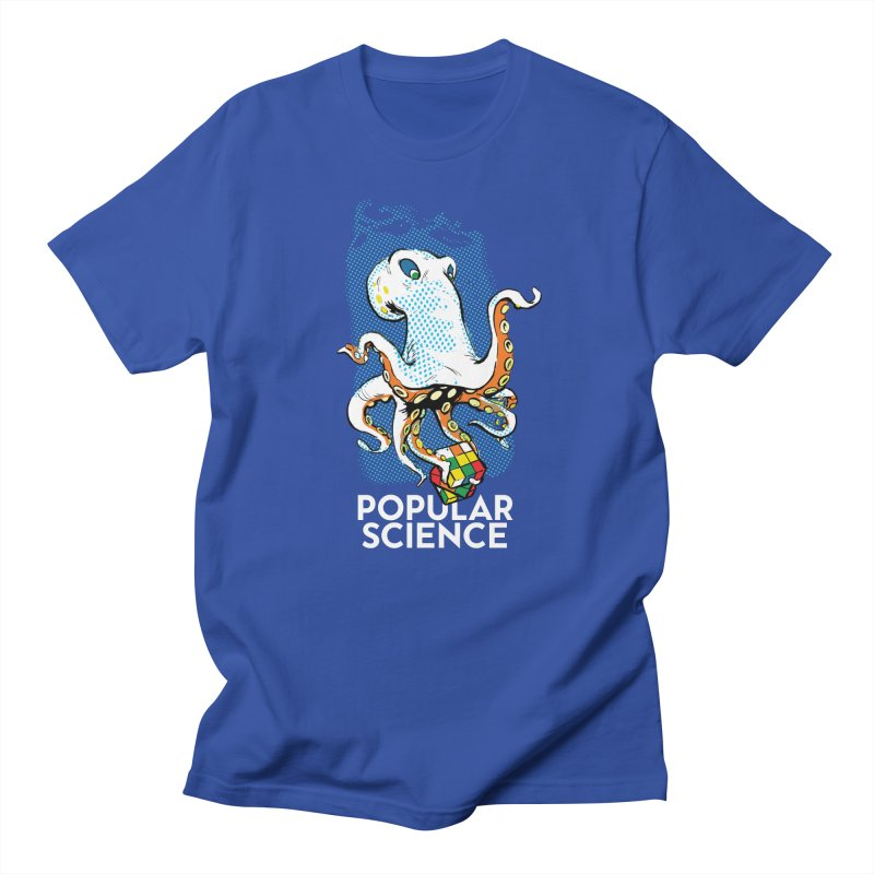Masterful Mollusk! Original Popular Science Magazine Artwork Women's Regular Unisex T-Shirt by Popular Science Shop