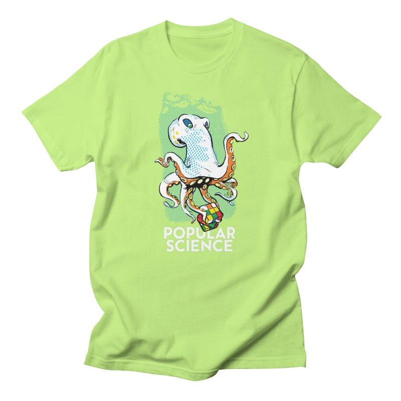 Masterful Mollusk! Original Popular Science Magazine Artwork Men's Regular T-Shirt by Popular Science Shop
