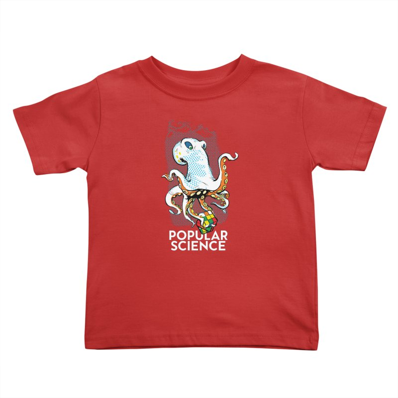 Masterful Mollusk! Original Popular Science Magazine Artwork Kids Toddler T-Shirt by Popular Science Shop