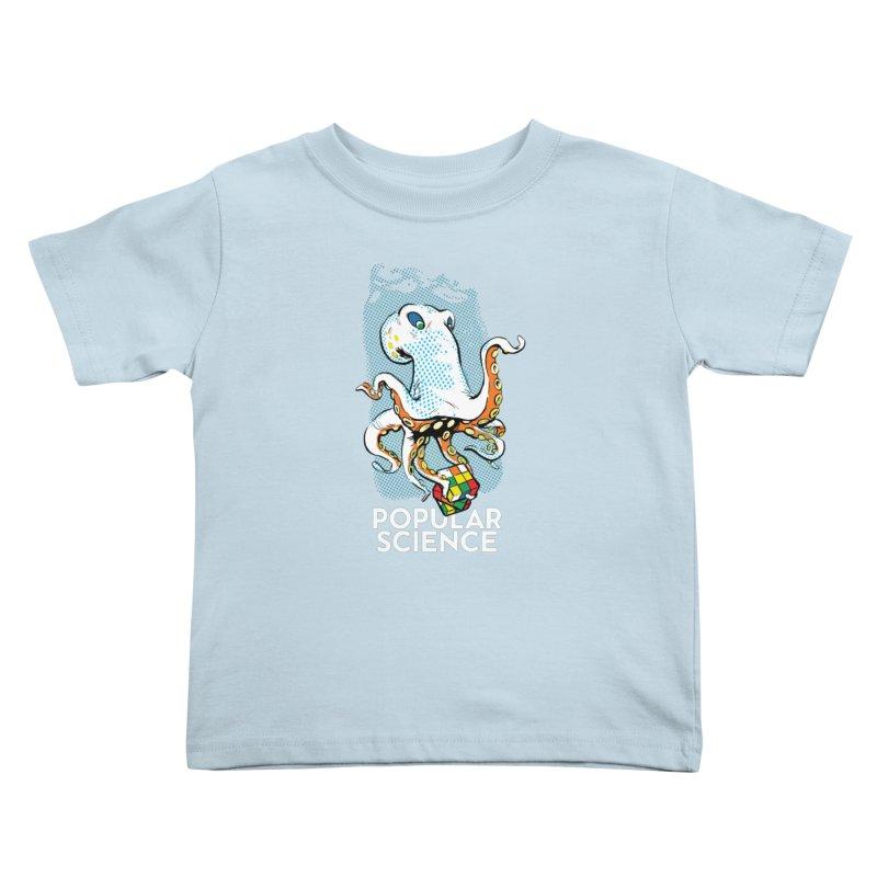 Masterful Mollusk! Original Popular Science Magazine Artwork Kids Toddler T-Shirt by Popular Science Shop
