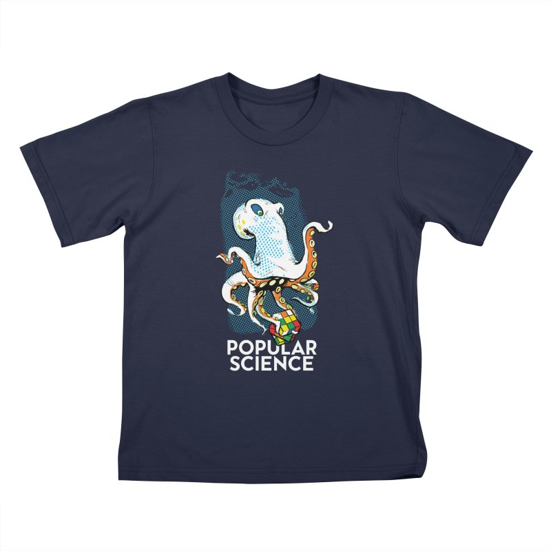 Masterful Mollusk! Original Popular Science Magazine Artwork Kids T-Shirt by Popular Science Shop