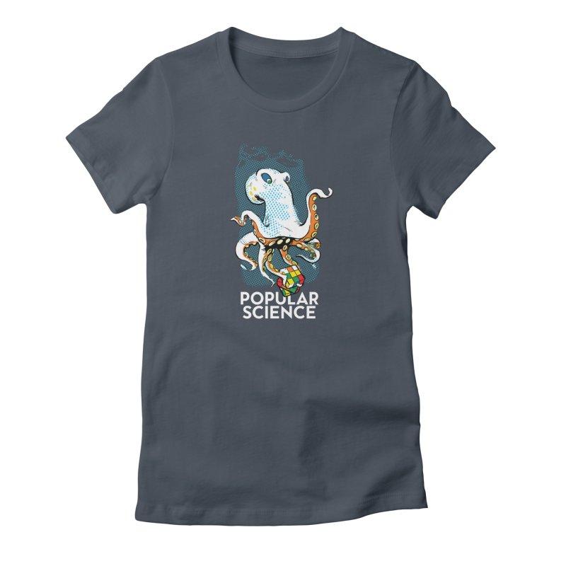 Masterful Mollusk! Original Popular Science Magazine Artwork Women's T-Shirt by Popular Science Shop