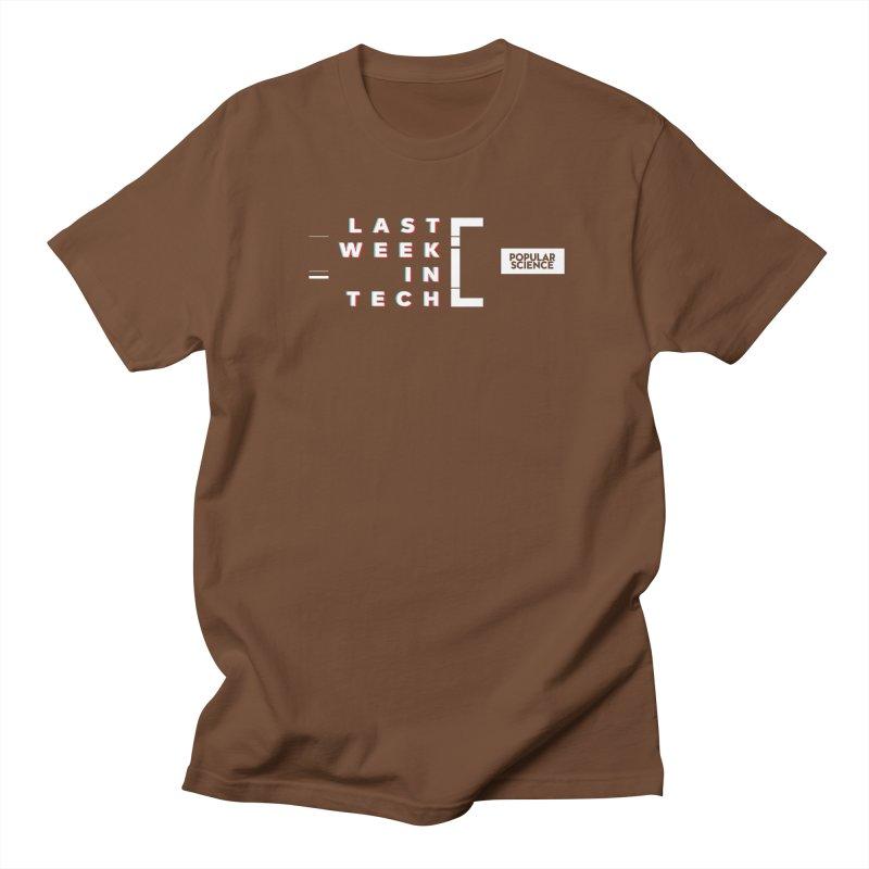 """""""Last Week In Tech"""" Logo Tee Men's Regular T-Shirt by Popular Science Shop"""