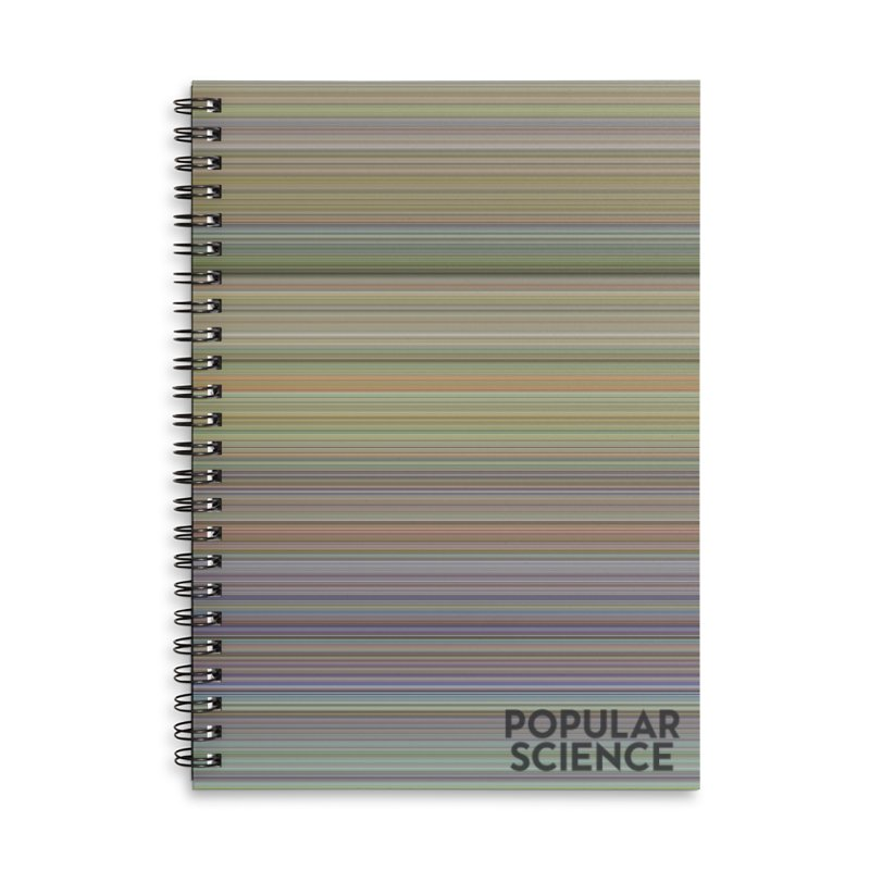 The Life of Popular Science -- Cover Colors Accessories Lined Spiral Notebook by Popular Science Shop